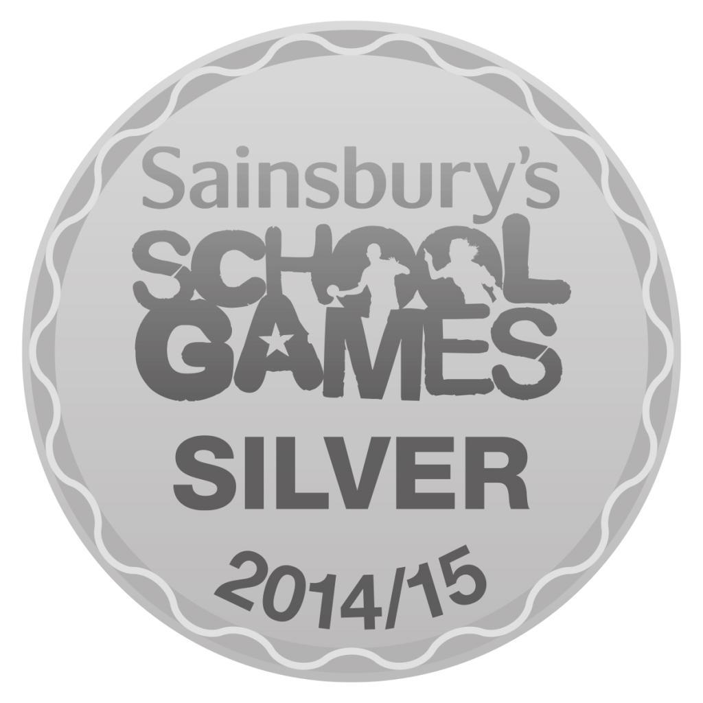Silver logo PE school